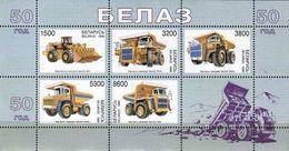 Belarus 1998 Block-belaz-trucks MNH - Belarus