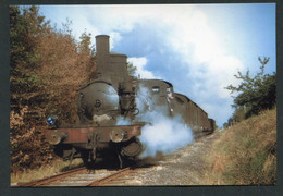 """Photo-carte Moderne """"Locomotive 030 Sur La Ligne Lisieux - Orbec (Calvados) - Années 60"""" Train SNCF - Treinen"""
