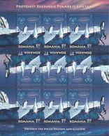 ANTARCTIQUE - Roumanie 2007 Préservation Régions Polaires, Manchots Et Carte - Yv. 5347/5348 ** 2 Feuilles - Non Classés