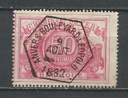 TR 11 Gestempeld ANVERS BOULEVARD LEOPOLD - Zonder Watermerk - Usados