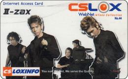 Thailand Phonecard Internet Loxinfo I-ZAX Grupp - Tailandia