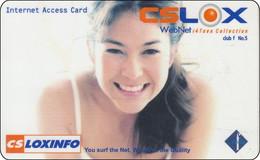 Thailand Phonecard Internet Loxinfo Nice Lady - Tailandia