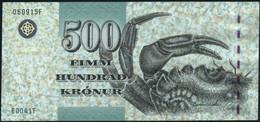 ♛ FAEROE ISLANDS - 500 Kronur 2004 UNC P.27 - Faroe Islands