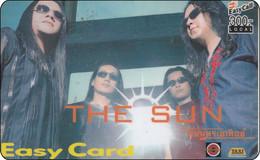 Old Thailand Phonecard + Internet Easy Card - The Sun Group - Tailandia