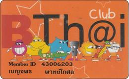 Thailand Phonecard Internet Loxinfo No. 3 BTh@i - Diff Picture - Tailandia