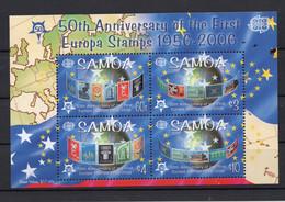 SAMOA , 2005 , CEPT 50 AÑOS SELLOS EUROPA , MICHEL BL 75 - Samoa