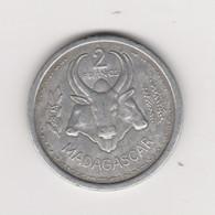 2 FRANCS 1948 ALUMINIUM - Madagaskar