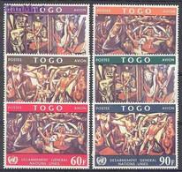 Togo 1967 Mi 588-593 MNH ( ZS5 TGO588-593 ) - Togo (1960-...)