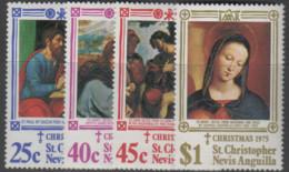 St.Christopher-Nevis - #312-15(4) - MNH - St.Kitts Und Nevis ( 1983-...)