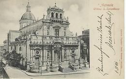 ITALIE - ACIREALE - Chiesa S. Sebastian -1904 - Acireale