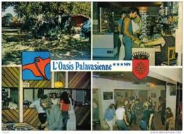 """Carte Postale 34. Lattes  Camping """"L'Oasis Palavasienne""""  Dancing Trés Beau Plan - Zonder Classificatie"""
