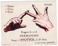 BUVARD - Pommade INOTYOL Du Dr Debat   *17,8 Cm X 14,1* - Produits Pharmaceutiques
