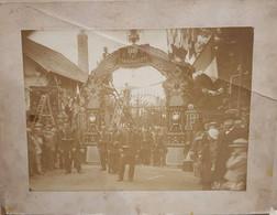 Photo Portail Manufacture D'armes De Tulle - Visite Présidentielle Felix Faure - 1895 - Finck - Old (before 1900)