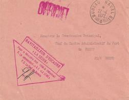 "13465  RAVITAILLEUR D'ESCADRE ""LA SEINE"" - BUREAU NAVAL 81 - Le 27/4/1972 - Posta Marittima"