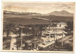 W5669 Napoli - Mergellina - Panorama - Tram / Viaggiata 1949 - Napoli