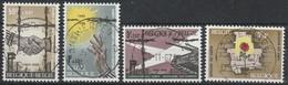 1329/1332 Bevrijding Der Kampen Oblit/gestp Centrale - Belgium