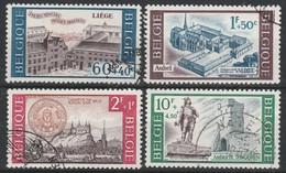 1385/1388 Culturele Oblit/gestp - Belgium