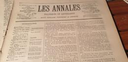 ANNALES 96/ILES DU SALUT  BAGNE FORCAT  LIEU DEPORTATION DREYFUS - Zeitschriften - Vor 1900
