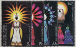 St.Christopher-Nevis - #376-79(4) - MNH - St.Kitts Und Nevis ( 1983-...)