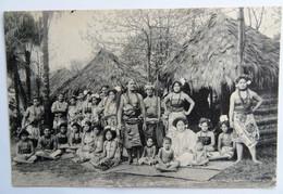 C P A : SAMOA : Gebrüder Marquardt's Vökerschaftliche, Dorfansicht In Der Mitte Fürst Tama, Village Prince Tamasese - Samoa