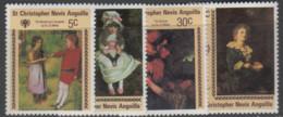 St.Christopher-Nevis - #388-91(4) - MNH - St.Kitts Und Nevis ( 1983-...)