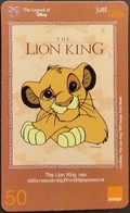 Mobilecard Thailand - Orange - The Legend Of Disney  - The Lion King - Tailandia