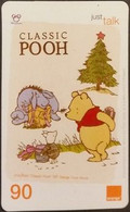 Mobilecard Thailand - Orange  - Disney - Winnie The Pooh (2) - Tailandia