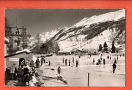 ZCE-08 Zermatt, Patinoire Eisfeld Und Mischabel. Nicht Felaufen PORTOFREI Port Offert. - VS Valais