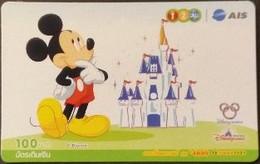 Mobilecard Thailand - 12Call / AIS - Disney - Mickey (4) - Tailandia