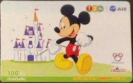 Mobilecard Thailand - 12Call / AIS - Disney - Mickey (5) - Tailandia