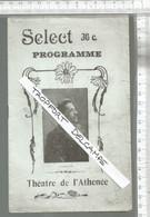 XA /  Vintage  // PROGRAMME Théâtre ATHENEE Select Programme @@ LE BOUTE EN TRAIN // DULUC MAGDA GALIPAUX - Programas