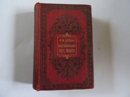 LIVRE ANCIEN PM QUITARD DICTIONNAIRE DES RIMES 14 X 9,5 CM Non Daté Quelques Notes Aux Crayon BE 500 Pages - Books, Magazines, Comics
