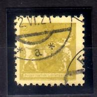 1921 Liechtenstein Landeswappen Mit Putten 2 Rp Used MiNr. 45 KW 17 MIE - Gebruikt