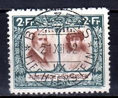 1930 Liechtenstein Freimarken Landschaft 2 FR Fürst Franz I. Und Fürstin Elsa Used MiNr. 107 Royals KW 170 MIE - Used Stamps