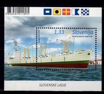2016 Slovenia Slovenian Ships -Oversea Good Transporter Piran MS MNH** MI B 88 Transport, Sea - Slovenia