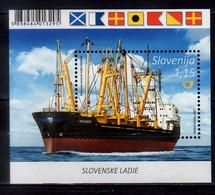 2017 Slovenia Slovenian Ships Transporter Maribor MS MNH** MI B 97 Transport, Sea - Slovenia