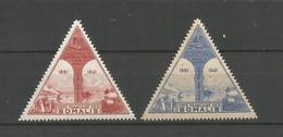 Timbre De Colonie Française Cote Des Somalis  Neuf * P-a N 11/12 - Unused Stamps