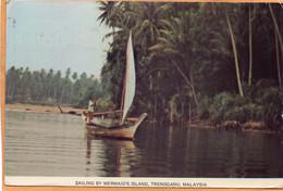 Malaysia Old Postcard Mailed - Malaysia