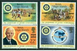 "-British Virgin Islands-1980-""Rotary International"" MNH ** - British Virgin Islands"