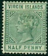 """-British Virgin Islands-1883-""""Queen Victoria"""" MH * - British Virgin Islands"""