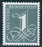 BRD - Mi 285 Y - ** Postfrisch (A) - 1Pf  Zifferzeichnung - Unused Stamps