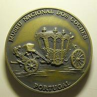 Medal Portugal Museu Nacional Dos Coches - Jetons & Médailles