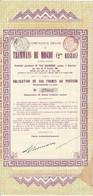 Titre Ancien - Compagnie Belge Des Tramways De Moscou (2ème Réseau) - Obligation De 1901 - Russia