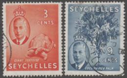 Seychelles - #158-59 - Used - Seychellen (1976-...)