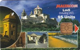 MALTA - Fortifications In Malta, Tirage 15000, 10/03, Used - Malta