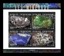 CAR 2020 Mih. 9697/700 Minerals (M/S) MNH ** - Centrafricaine (République)