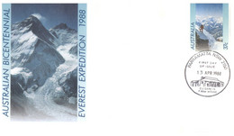 (T 24) Australia - Pre-Paid FDC Cover - AAT Covers (1988) - Sobre Primer Día (FDC)
