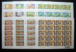 Thailand Stamp FS 1999-2000 World Youth And 13th Asian Exhibition BANGKOK 1-2-3 Series Match # - Thailand