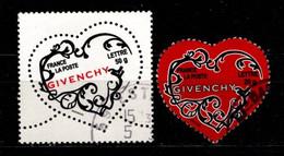 FRANCE - 2006 - YT N° 3997 / 3998 - Oblitérés - Saint Valentin - Gebruikt