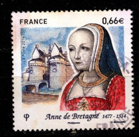 FRANCE - 2014 - YT N° 4834 - Oblitéré - Anne De Bretagne - Francia